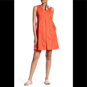 c1311464d6 Lands' End NWOT Canvas Sleeveless Pleated Dress